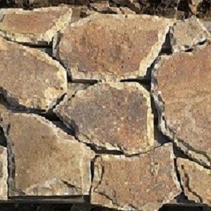 Песчаник плитняк 20 мм Серо-зеленый со сколом