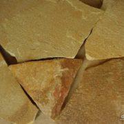 Песчаник плитняк 20мм Медовый