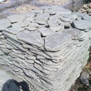 Песчаник плитняк 20 мм. Голтованный
