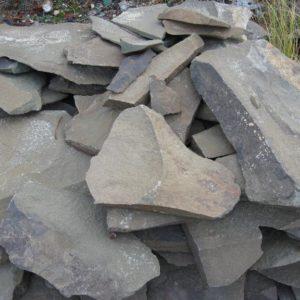 Камень «Фонтанка» Серо-зеленый